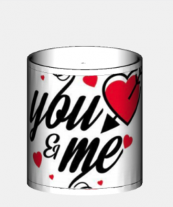 tazza regalo per san valentino you and me