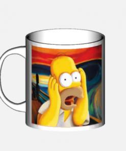 mug homer simpson urlo di munch